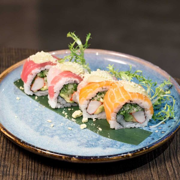 Rainbow California Roll